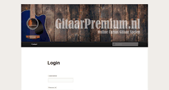 Preview of gitaarpremium.nl
