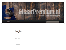 Tablet Preview of gitaarpremium.nl